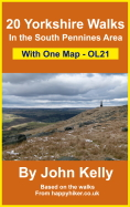 20 Yorkshire Walks with only one map OL21